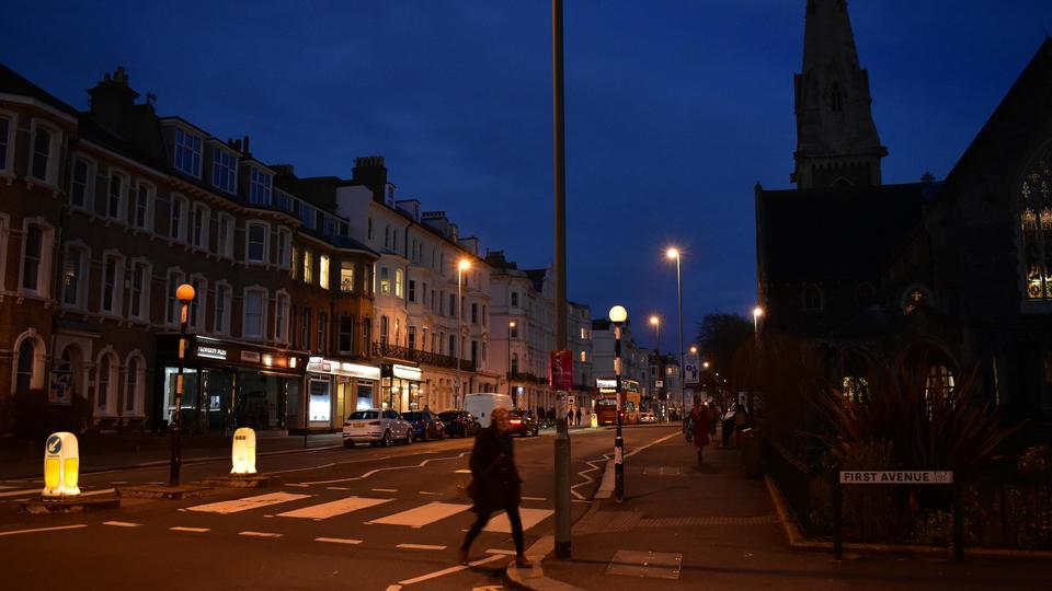 Hove by Night - Original Style